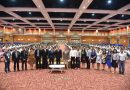 อธิการบดี มรส. พร้อมคณะผู้บริหาร เปิดโครงการ  Rajabhat Camping ๒๐๑๙ ณ หอประชุมวชิราลงกรณ